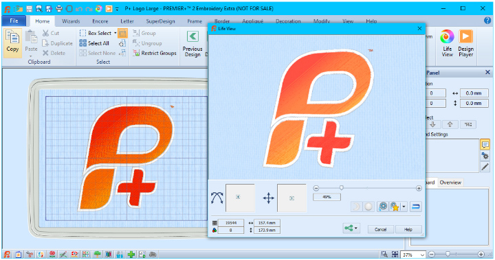 Premier 2 Common Features Premier 2 Embroidery System